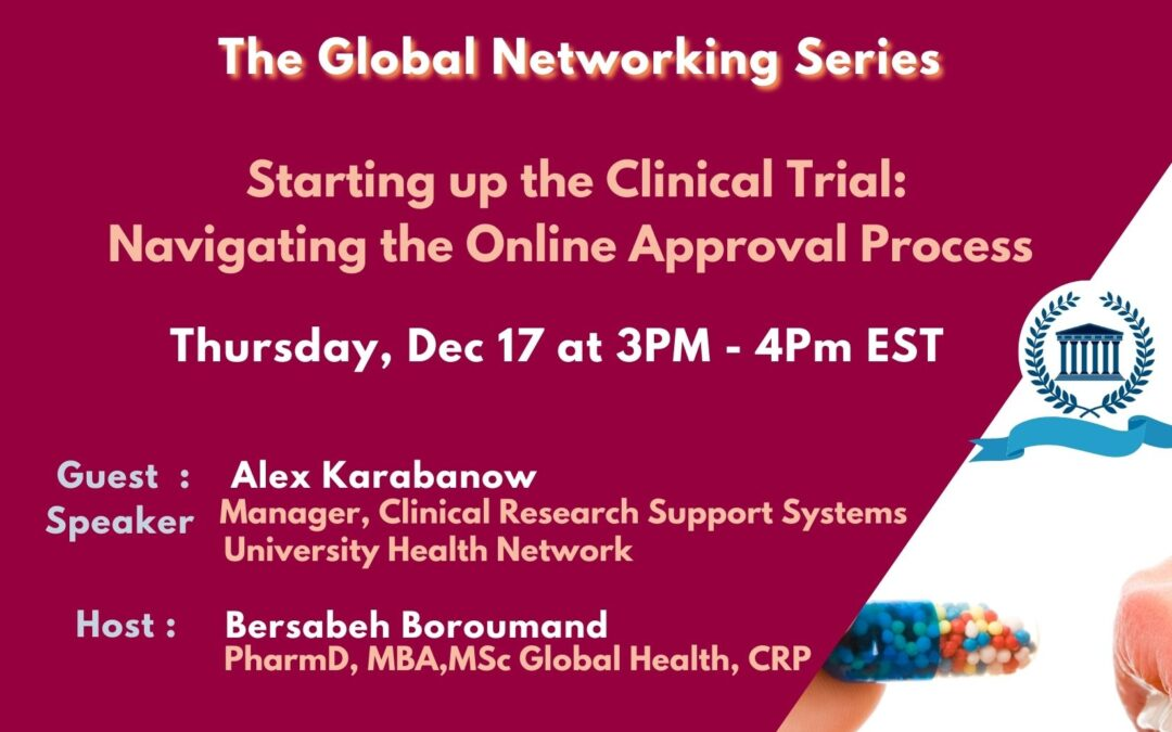 Exploring the Online Approval Process of clinical trials