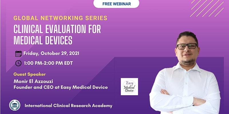 Medical devices webinar 29 oct, Friday